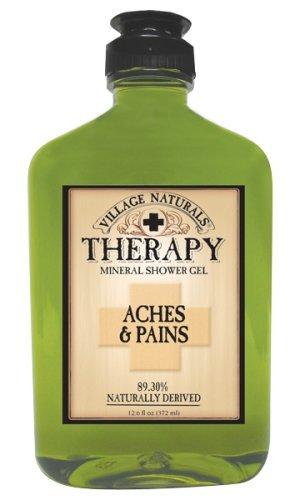Village Naturals Therapy Aches & Pains Mineral Shower Gel 12.6 fl oz