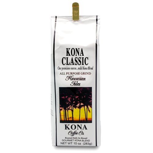 Hawaiian Isles Kona Coffee Co. Kona Classic Ground Coffee