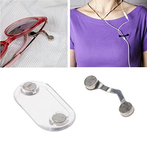 Acier Sécurité Pour broche Lecteur De Magnétique Inoxydable lunettes Porte En Porte Jerkky wTIFqF