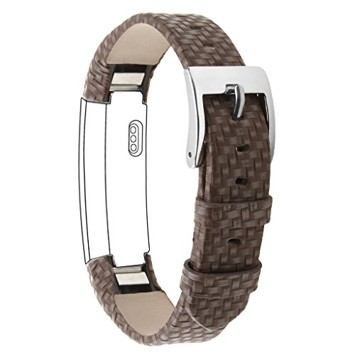 Henoda Leather Bands Fitbit Strap