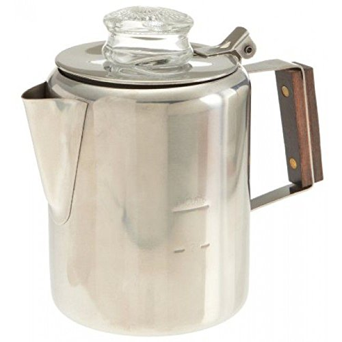 18/8 Stainless Steel Percolator, 12 Cup, 412, Rapid brew, stovetop by Unknown