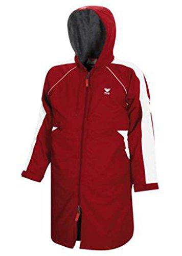 Breathable Parka (TYR Alliance Team Parka Adult Red Medium)