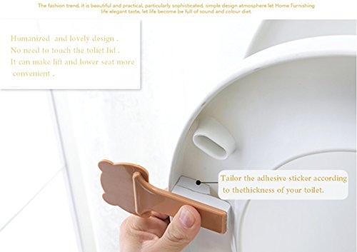 Amazon.com: funny-home lovely cartoon four animal toilet Seat ...