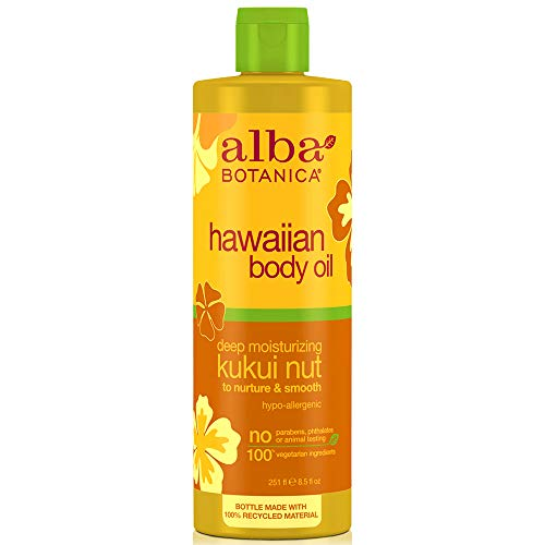 - Alba Botanica Massage Oil Kukui Nut Net WT 8.5 oz