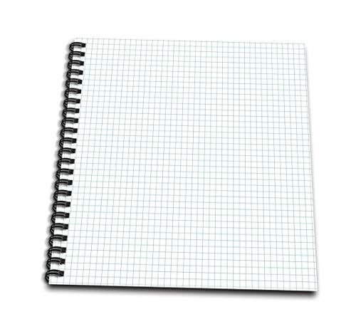 Anne Marie Baugh–用紙効果–ブルーとホワイトグラフ用紙効果–Drawing Book 4` x 4` db_215548_3