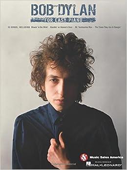 Bob Dylan For Easy Piano (Hal Leonard)