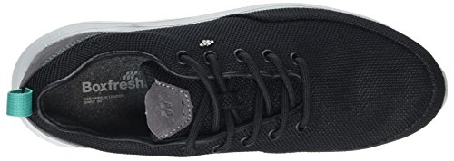 Hommes Boxfresh Black Sneaker noir Oscard CTqTadwU