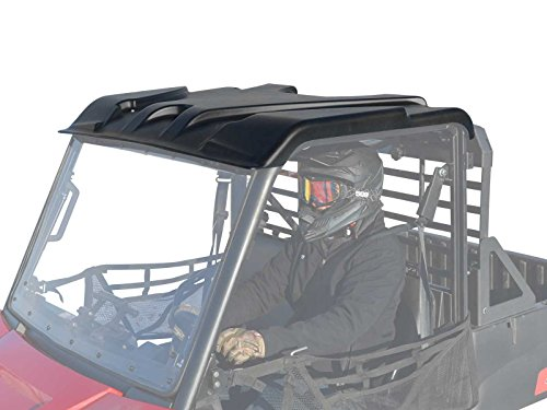 SuperATV Polaris Ranger Midsize 570 / EV/ETX Plastic Roof - (2015+) - Easy to Install!