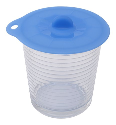 Silicone Lids - Set of 4 Different Sizes - Bowl Cover - Microwave Food Cover