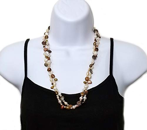 Freshwater Chocolate Pearl Necklace - 2