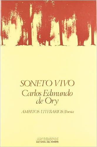 Soneto Vivo (Ambitos literarios/Poesía): Amazon.es: Carlos ...