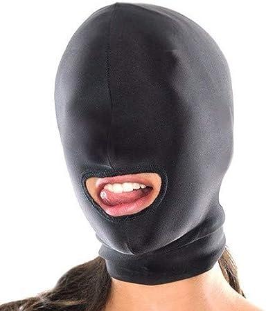 Masque en nylon noir pour jeux de r/ôle