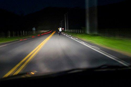 247 Viz Reflective Vest with Hi Vis Bands, Fully Adjustable & Multi-Purpose: Running, Cycling Gear, Motorcycle Safety, Dog Walking & More - High Visibility Neon Orange by 247 Viz (Image #4)