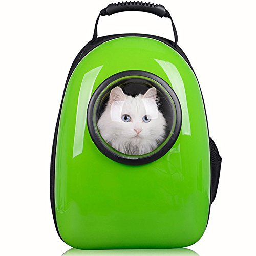 94cc94f50628 Pettom Switchable Mesh Panel Portable Travel Hiking Pet Carrier Space  Capsule Bubble Design Cat Carriers Waterproof