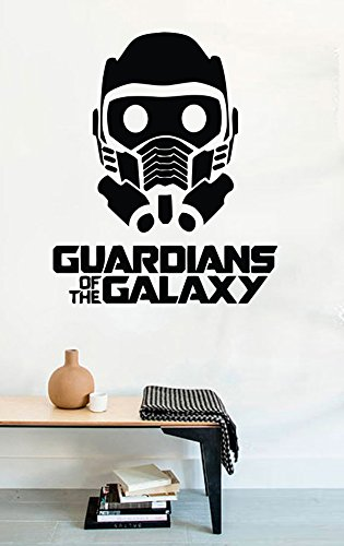 Marvell Guardians of the Galaxy Vinyl Wall Decals Mask Star Lord Film Stickers Vinyl Decor MK2294