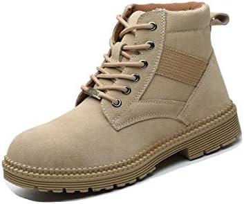 SafeByAlex Steel Toe Work Boots for Men