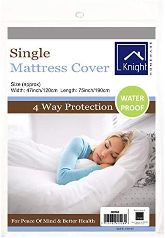 Mattress Cover Vinyl Double King Size Bed Sheets Wipe Clean Waterproof Fast UK