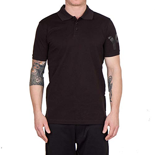3cdfbb7b adidas Y-3 by Yohji Yamamoto Men's Classic Polo, Black MD | Norwalk ...