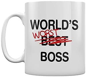 World39;s Worst Boss Mug White