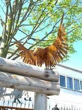 Águila, Pájaro, Jardín figuras, hierro Jardín Decorar oxidado metal animales, óxido: Amazon.es: Jardín