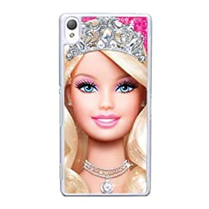 Sony Xperia Z3 Cell Phone Case White Barbie AS7YD3595609