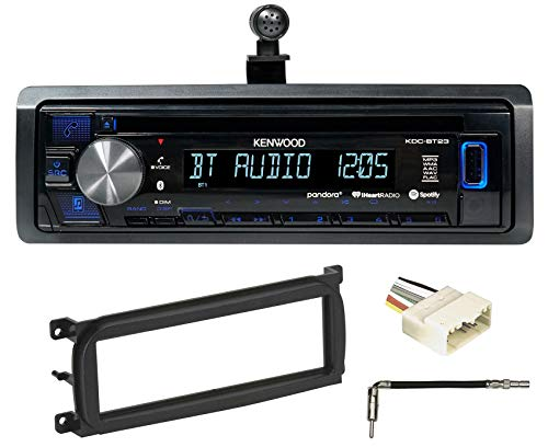 Kenwood CD Receiver w Bluetooth iPod iPhone Pandora for 2003-06 Jeep Wrangler TJ