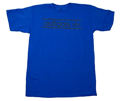 - adidas Men's Royal Blue T-Shirt Super Soft Ringspun Tee 2X