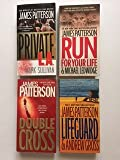James Patterson (Set of 4) Private L.A.; Run for Your Life; Double Cross