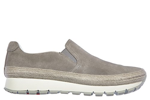 Grigio On Art Slip Grey 3s6015 Prada Steel Sneaker Scarpa Donna Acciaio PqXw1aW