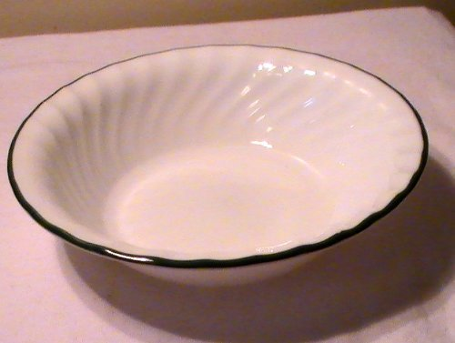 Corning Corelle Callaway Ivy Soup/Cereal Bowl - One Bowl (Corelle Cereal Bowls Green Rim compare prices)