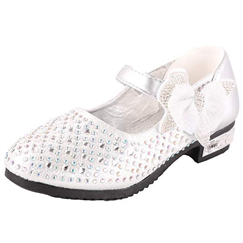 iTvTi Girls Sparkle Mary Jane Princess Shoes Ballet Toddler Sandals