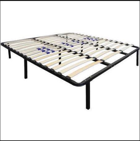 Premier Flex Platform Bed Frame with Adjustable Lumbar Support, Queen Sizes ()