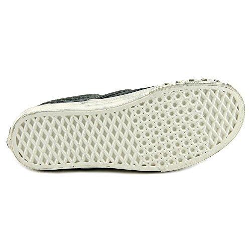 Vans Unisex Klassiska Slip-on Overwashed Sneakers Blå Grafit