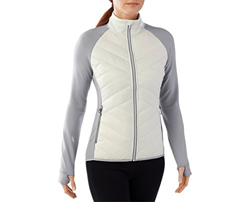 SmartWool Women's Corbet 120 Jacket (Dogwood White) Medium by SmartWool