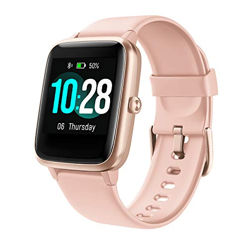 """Arbily Smart Watch for Women, IP68 Waterproof Smartwatch with 1.3"""" Large Color Full Touch Screen Fitness Watch with…"""