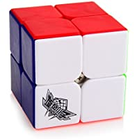 D-FantiX Cyclone Boys 2x2 Speed Cube Stickerless Magic Cube Puzzles Toys 50mm