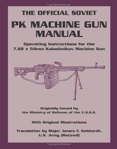 (Official Soviet PK Machine Gun Manual: Operating Instructions for the 7.62 x 54mm Kalashnikov Machine Gun )