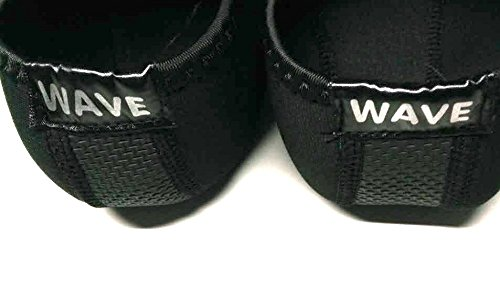 Easy Usa Womens Aqua Wave Water Shoes Calze 1199l Blk / Blk