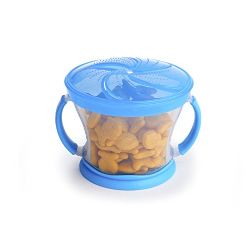 Large Product Image of Munchkin 2 Piece Snack Catcher, Blue/Green