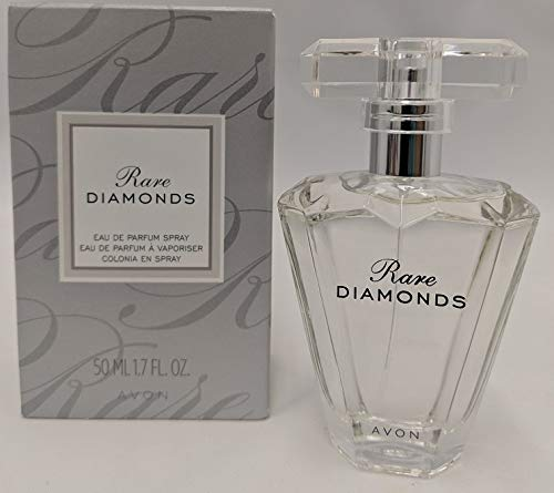 AVON RARE DIAMONDS EAU DE PARFUM 1.7 FL OZ IN A BEAUTIFUL NEW BOTTLE