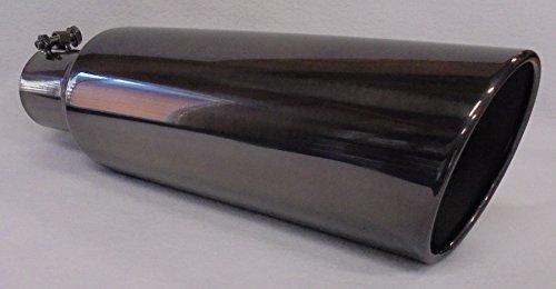5 tip exhaust black chrome - 2