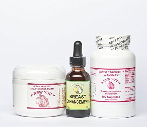 - Breast Enhancement/Enlargement Pack For Crossdressing Men And Trans-Women