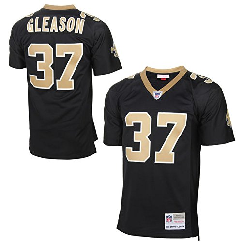 Black Nfl Premier Jersey - Steve Gleason New Orleans Saints Men's NFL Mitchell & Ness Premier Black Jersey (Large)