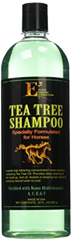 E3 Elite Grooming Products Tea Tree Shampoo for Pets, 32 oz.