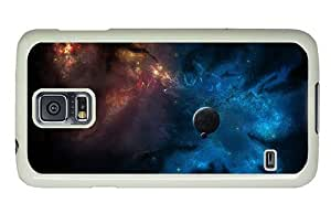Hipster Samsung Galaxy S5 Case spec cases nebula stars PC White for Samsung S5