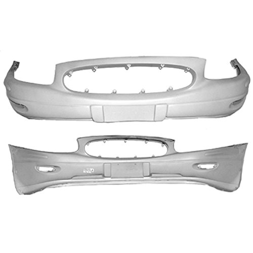 OE Replacement Buick Lesabre Front Bumper Cover (Partslink Number GM1000618) ()