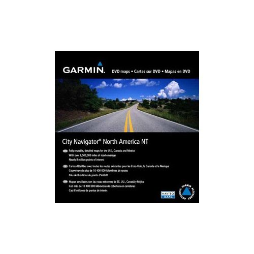 Garmin City Navigator North America Land Map - North America - United States, Canada, Mexico, Puerto Rico, Cayman Islands, Bahamas, Jamaica, Saint Barthlemy, Martinique, Guadeloupe, French Guiana, ...