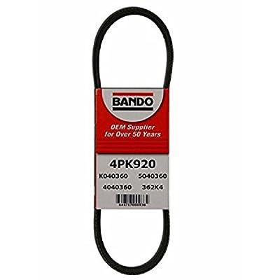 BANDO Replacement for 1994-1995 Acura Integra Models rs gs ls 3 piece serpentine drive belt set 4PK870 4PK790 4PK920 ALTERNATOR AIR CONDITIONER POWER STEERING: Automotive