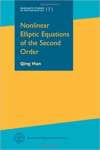 Nonlinear Elliptic Equations of the Second Order (Graduate