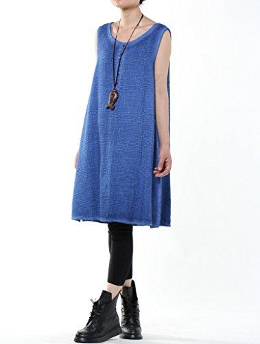 Vogstyle - Falda - para niña Azul